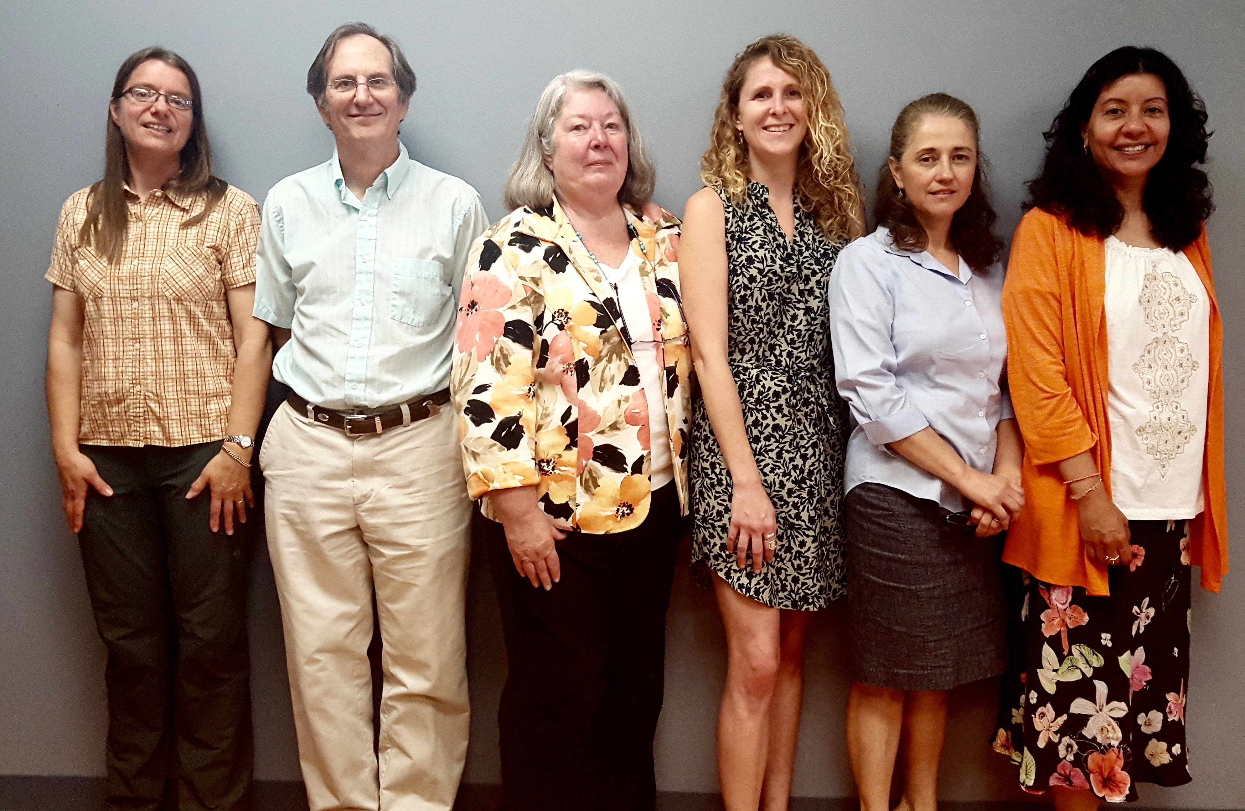 Founded in November 2015, the Fair Housing Project at New Hampshire Legal Assistance now includes seven members: Ruth Heinz, Ben Mortell, Project Director Chris Wellington, Victoria Horrock, Maria Eveleth and Liliana Neumann. (Not pictured, Elliott Berry.)